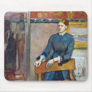 Edgar Degas | Helene Rouart in her Father's Study Mouse Pad