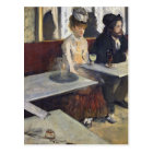 Edgar Degas | In a Cafe, or The Absinthe Postcard