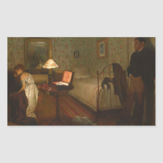 Edgar Degas - Interior Rectangular Sticker