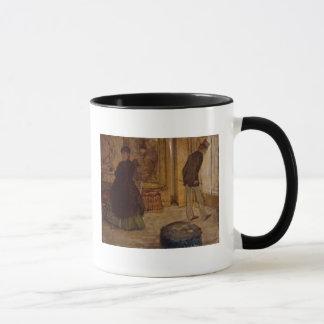 Edgar Degas | Interior with Two Figures, 1869 Mug