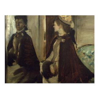 Edgar Degas | Madame Jeantaud in the mirror Postcard