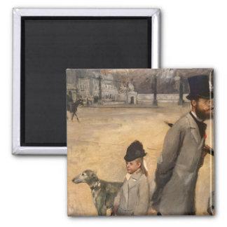 Edgar Degas | Place de la Concorde, 1875 Magnet