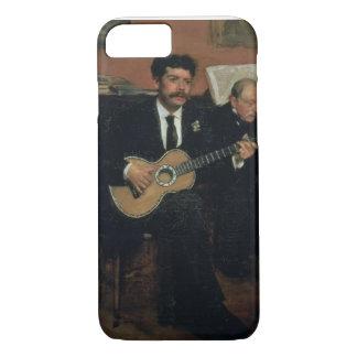 Edgar Degas | Portrait of Lorenzo Pagans iPhone 8/7 Case