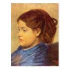 Edgar Degas - Portrait of Mademoiselle Dobigny Postcard