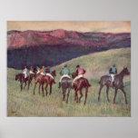 Edgar Degas - Race Horses Training 1894 racehorses