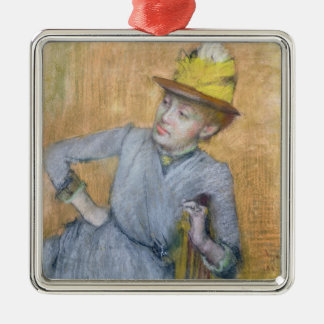 Edgar Degas | Seated Woman, 1887 Christmas Ornament