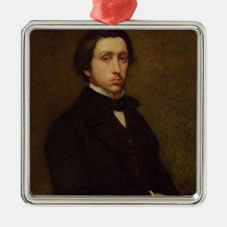 Edgar Degas | Self portrait, 1855 Christmas Ornament