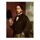Edgar Degas | Self portrait, c.1862 Postcard