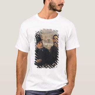 Edgar Degas | Self Portrait w Evariste de Valernes T-Shirt