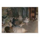 Edgar Degas | Stage Rehearsal Card