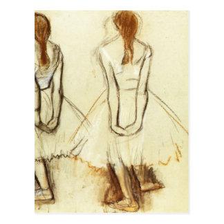 Edgar Degas: Study for the Little Dancer Postcard