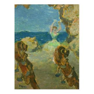 Edgar Degas | The Ballet Dancer, 1891 Postcard