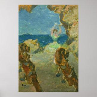 Edgar Degas | The Ballet Dancer, 1891 Poster