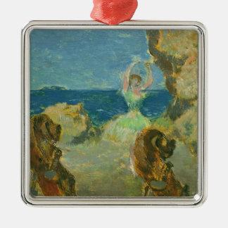 Edgar Degas   The Ballet Dancer, 1891 Silver-Colored Square Decoration