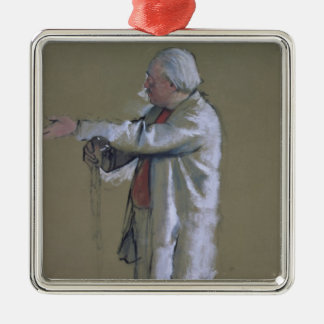 Edgar Degas | The Ballet Master, 1875 (pastel) Christmas Ornament