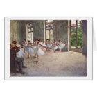 Edgar Degas | The Ballet Rehearsal Card