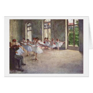 Edgar Degas | The Ballet Rehearsal Card