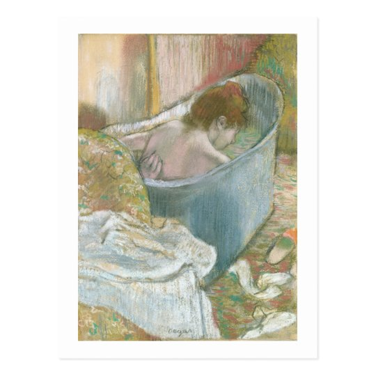 Edgar Degas | The Bath Postcard