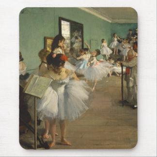 Edgar Degas-The dance class 1874 Mouse Mat