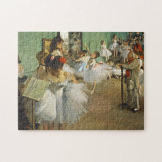 Edgar Degas The Dance Class Jigsaw Puzzle