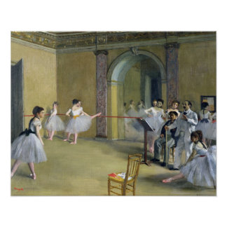 Edgar Degas | The Dance Foyer at the Opera Poster
