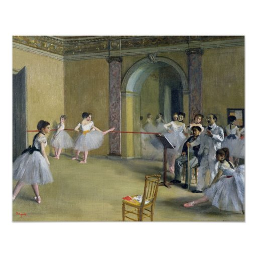 Edgar Degas | The Dance Foyer at the