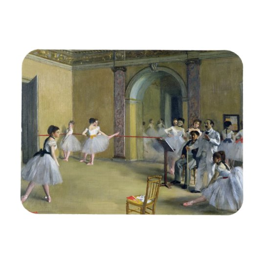 Edgar Degas | The Dance Foyer at the Opera Rectangular Photo Magnet