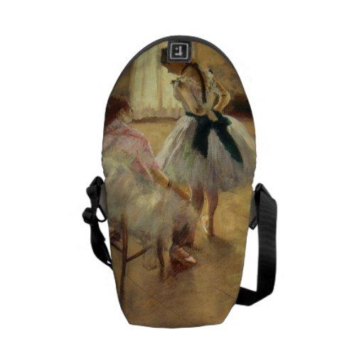 Edgar Degas The Dance Lesson Messenger Bags