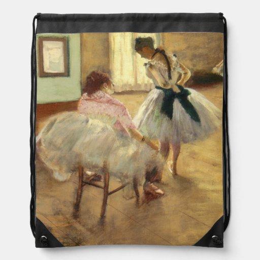 Edgar Degas The Dance Lesson Cinch Bag