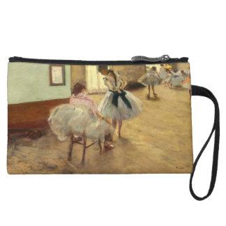 Edgar Degas The Dance Lesson Wristlet Purses