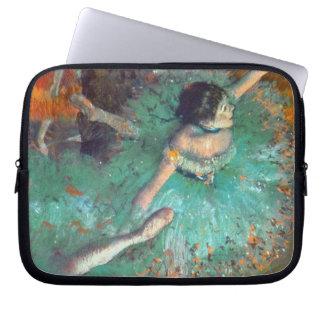 Edgar Degas - The Green Dancers - Ballet Dance Laptop Sleeve