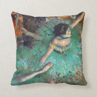 Edgar Degas - The Green Dancers - Ballet Dance Throw Pillow