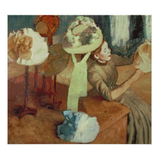 Edgar Degas | The Millinery Shop, 1879/86 Poster