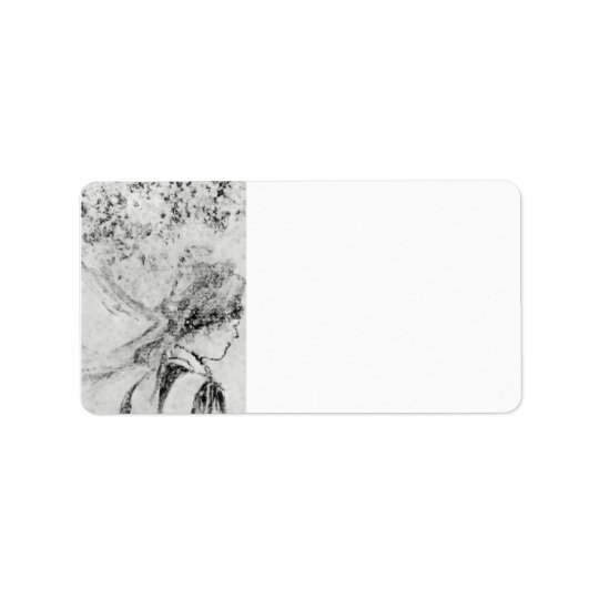 Edgar Degas - The nurse Address Label