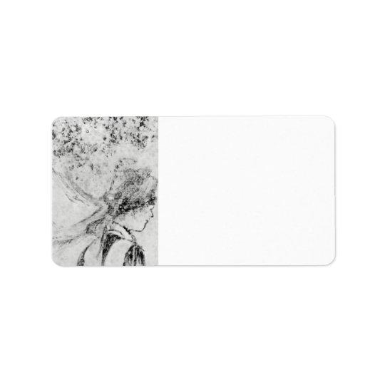 Edgar Degas - The nurse Label