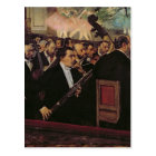 Edgar Degas   The Opera Orchestra, c.1870 Postcard