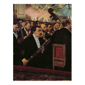Edgar Degas | The Opera Orchestra, c.1870 Postcard