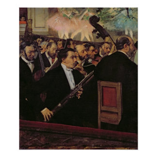 Edgar Degas | The Opera Orchestra, c.1870 Poster