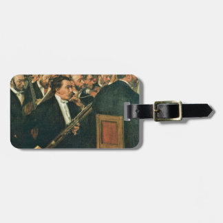 Edgar Degas The Orchestra of the Opera Luggage Tag