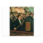 Edgar Degas The Orchestra of the Opera Postcard