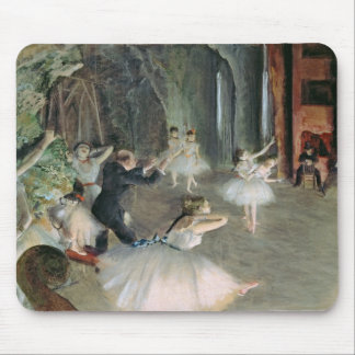 Edgar Degas | The Rehearsal of the Ballet on Stage Mouse Pad