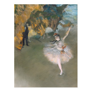 Edgar Degas | The Star, or Dancer on the stage Postcard