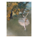 Edgar Degas | The Star, or Dancer on the stage Poster