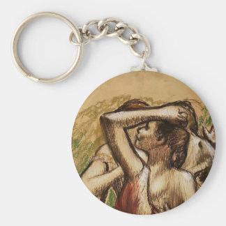 Edgar Degas: Three Ballet Dancers Key Chains