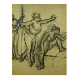 Edgar Degas | Three Dancers, c.1900 Postcard