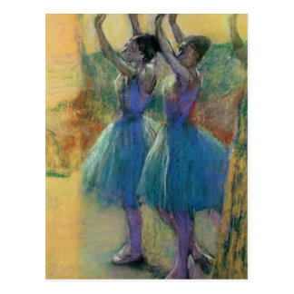 Edgar Degas | Two Blue Dancers Postcard