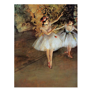 Edgar Degas - Two Dancers Postcard