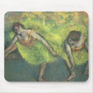 Edgar Degas | Two dancers relaxing Mouse Mat