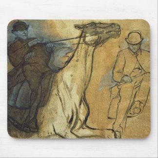 Edgar Degas | Two studies of riders  Mouse Mat
