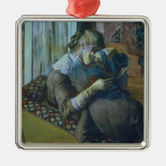 Edgar Degas | Two Women Christmas Ornament